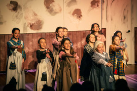 Orphanage girls dance