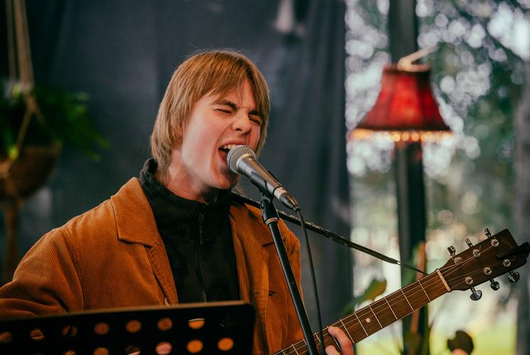 Jack Woodbine - Singer and guitarist