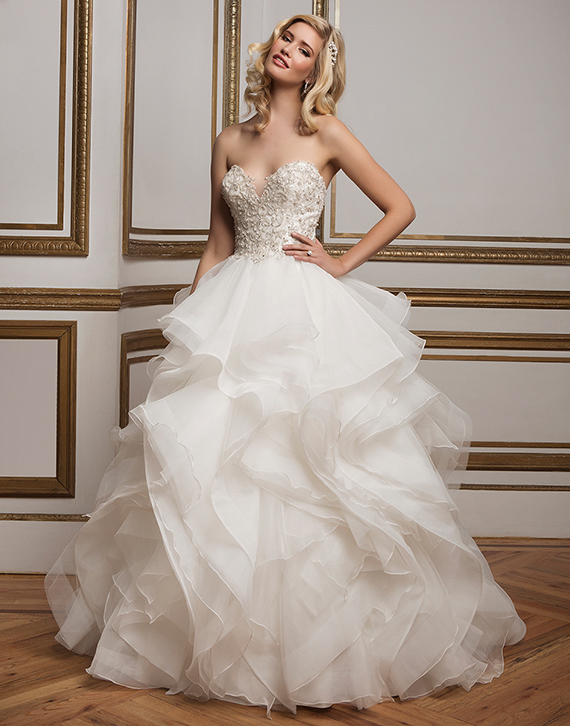 Justin Alexander Wedding Dress 8845
