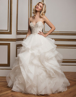 Justin Alexander Wedding Dress 8845