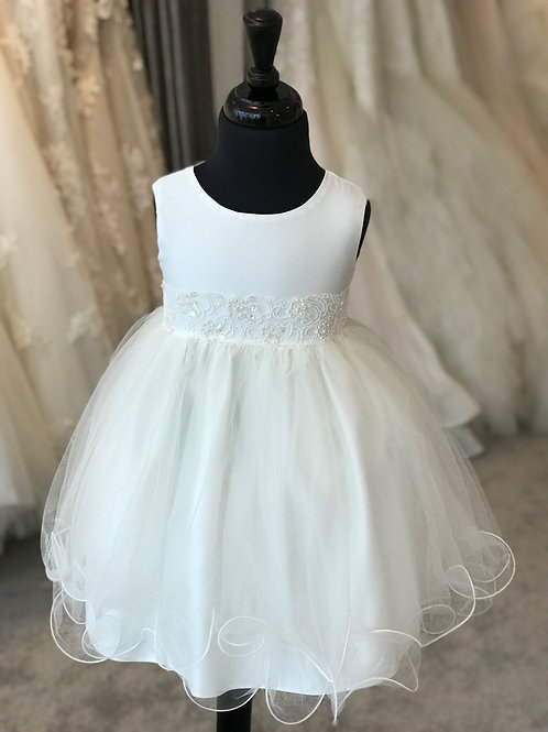 Baby Girls Ivory Dress