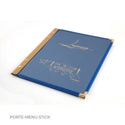 Porte-menu Stick 2 Binôme