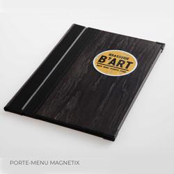 Porte-menu Magnetix Binôme