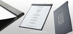 Porte-menu BOARD magnetix