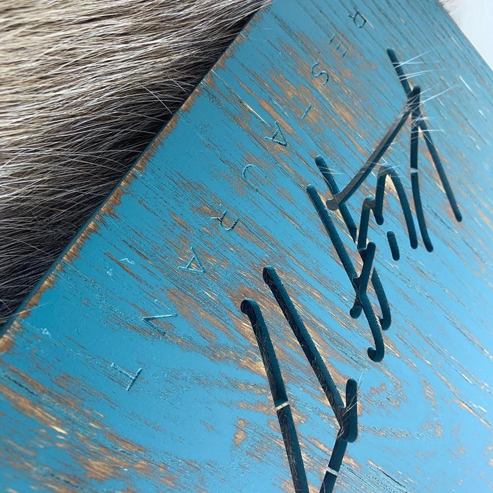 Menu Board bois vintage