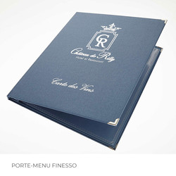 Porte-menu Finesso 4 Binôme