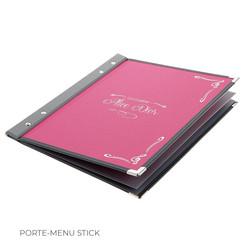 Porte-menu Stick Binôme