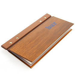 Carte de bar Stick bois