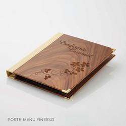 Porte-menu Finesso Binôme