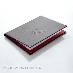 Porte-menu Cordula Binôme