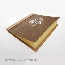 Porte-menu Corium Binôme