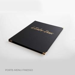 Porte-menu Finesso 3 Binôme
