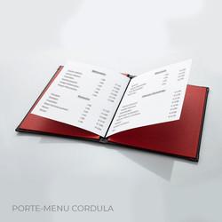 Porte-menu Cordula 2 Binôme