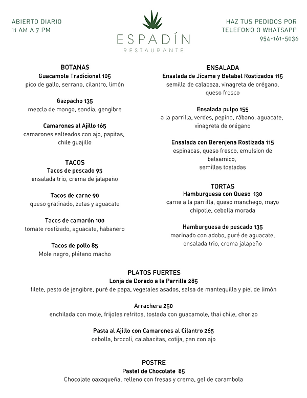 Spanish only Covid menu.png