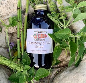 Elderberry & Tulsi Syrup