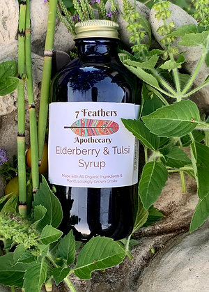 Elderberry & Tulsi Syrup