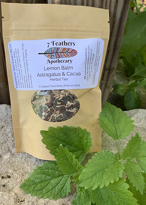 Lemon Balm, Astragalus and Cacao Tea