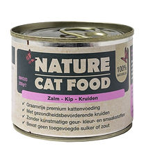Nature Cat Food Zalm, Kip & Kruiden