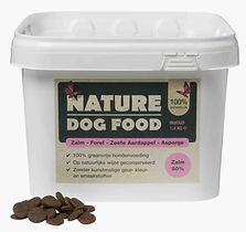 Graanvrije hondenbrokken met zalm | Nature Dog Food