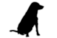 silhouet hond