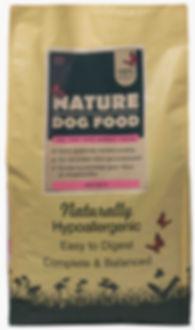 Graanvrije hondenvoeding met zalm   Nature Dog Food
