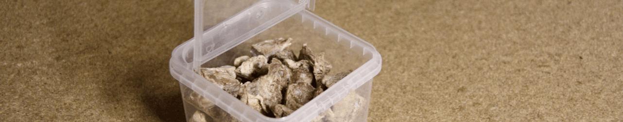 Nature Dog Food Gevriesdroogde Hondensnacks Struisvogel verpakking