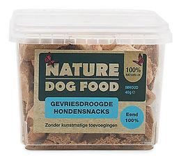 Nature Dog Food-snack-eend