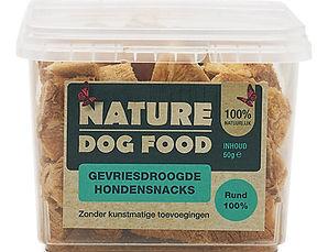 Nature Dog Food-snack-rund
