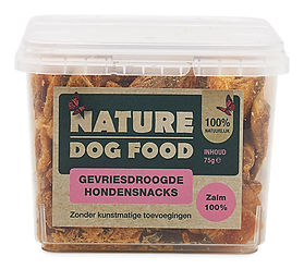 Nature Dog Food-gevriesdroogde snack-zal