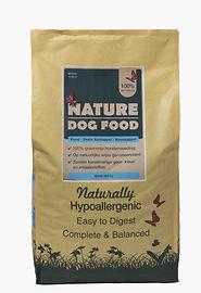 Graanvrij hondenvoer Nature dog food Eend