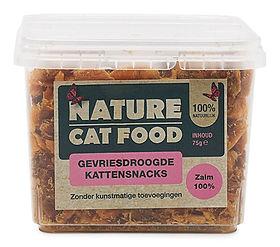 Nature Cat Food-snacks-zalm
