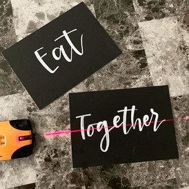 Creating custom table signs with _sobrel