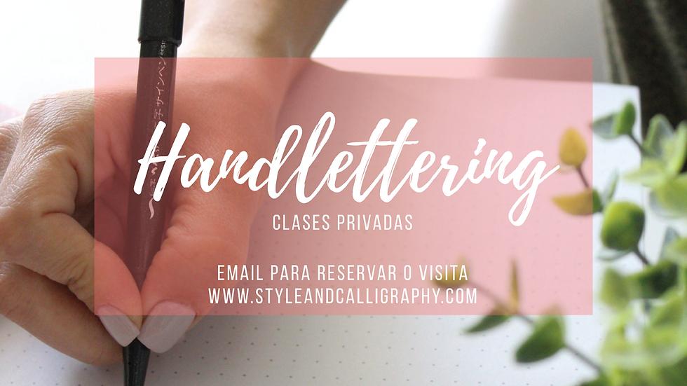 Clase Personalizada Handlettering
