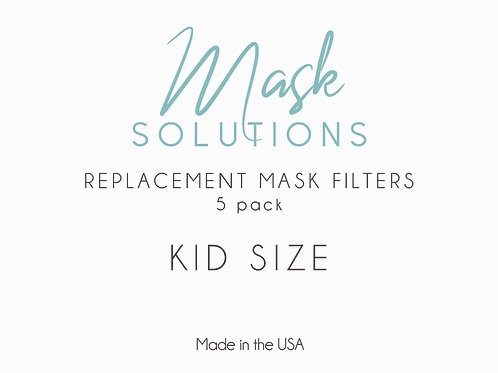 Replacement Filters: 5-Pack (Kids)