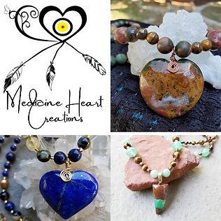 Medicine Heart Creations, Cynthia Clark, Handmade Medicine Jewelry