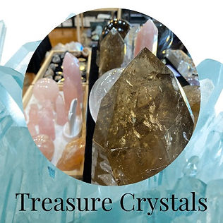 Treasure Crystals Wholesale, Retail Showroom in Sebasopol, California