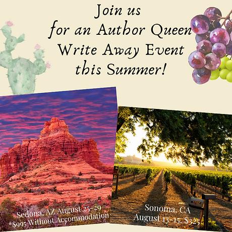 Sonoma Healing Press Write Away Events