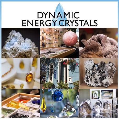 Dynamic Energy Crystals  - Sausalito Crystal Gallery