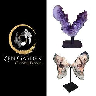 Zen Garden Crystal Decor, Ari Nielson Shaman Owner