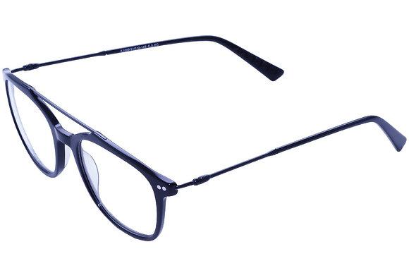 Montatura vista  CLARK 1066  005  51  19  con lenti protezione LUCE BLU