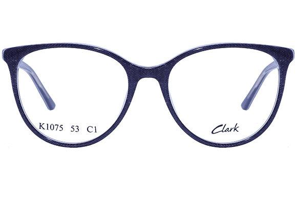 Montatura vista CLARK 1075 001 53 17  completo di lenti da vista antiriflesso