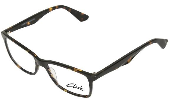 Montatura vista  CLARK 1209  002  54  17  con lenti protezione LUCE BLU