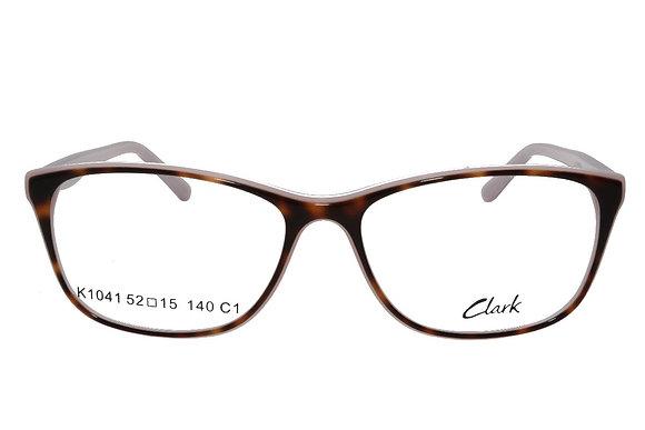 Montatura vista CLARK 1041 001 54 15  completo di lenti da vista antiriflesso