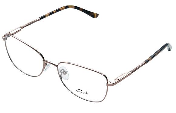 Montatura vista  CLARK 1167  003  53  16  con lenti protezione LUCE BLU