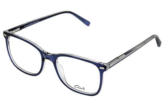 Montatura vista  CLARK 1146  003  54  19  con lenti protezione LUCE BLU