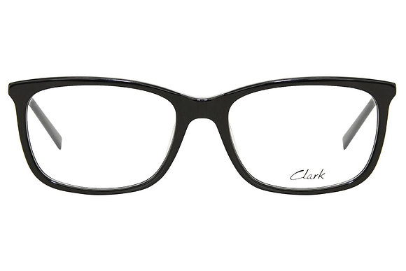 Montatura vista  CLARK 1164  001  54  17  con lenti protezione LUCE BLU