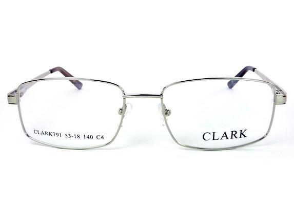 Montatura vista  CLARK 791  040  55   18  con lenti protezione LUCE BLU