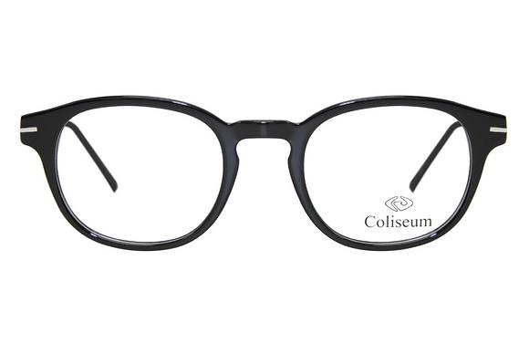 Montatura vista  COLISEUM CL219  001  50  22  con lenti protezione LUCE BLU