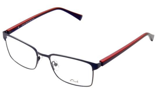 Montatura vista  CLARK 1101  005  54  19  con lenti protezione LUCE BLU