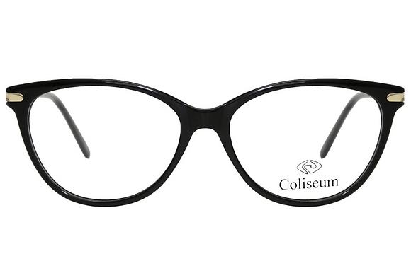 Montatura vista  COLISEUM CL205  001  53  16  con lenti protezione LUCE BLU